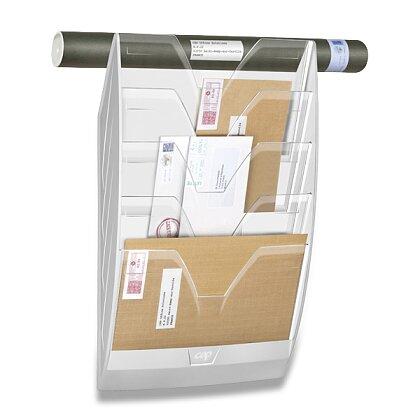 Obrázek produktu CEP ReCEPtion - nástěnný odkladač - bílý