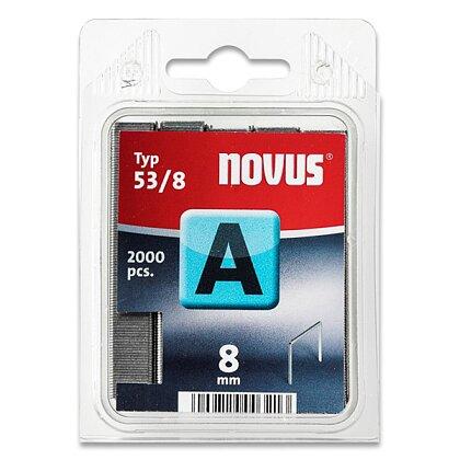 Obrázek produktu Novus A 53/8 - drátky do sešívaček