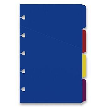 Obrázek produktu Krajové výřezy, mix barev - náplň kapesních zápisníků Filofax Notebook