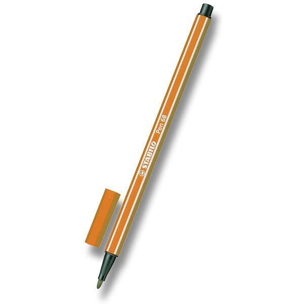 Fix Stabilo Pen 68 oranžový