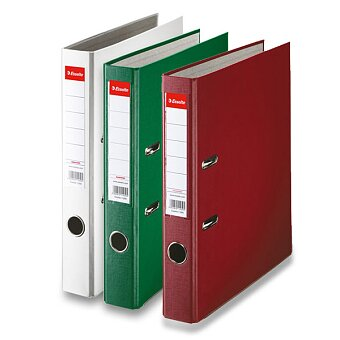 Obrázek produktu Pákový pořadač Esselte Economy - A4, 50 mm, výběř barev