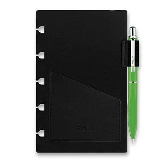 Obrázek produktu Přídavné poutko na pero + pero - náplň kapesních zápisníků Filofax Notebook, výběr barev