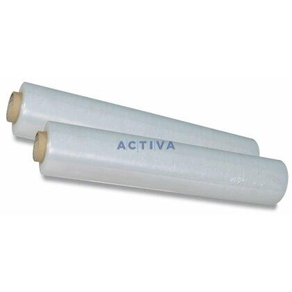 Obrázok produktu Priľnavá fólia transparentná - 20 mikrónov, hmotnosť dutinky 580 g, rolka 0,5 m, 2,4 kg