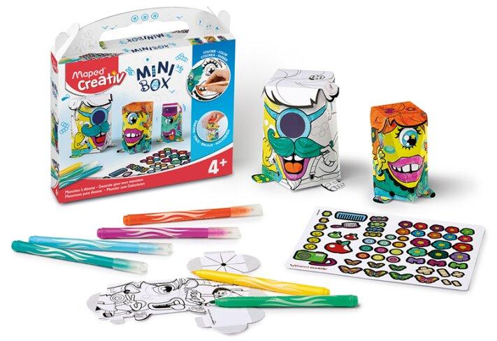 Kreativní sada Maped Creativ Mini Box příšerky