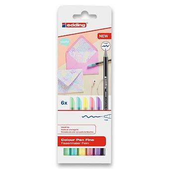 Obrázek produktu Pastelové fixy Edding 1200/6 - sada 6 barev