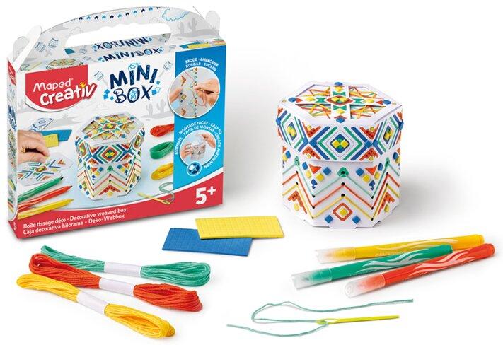 Kreativní sada Maped Creativ Mini Box ozdobná krabička s vyplétáním