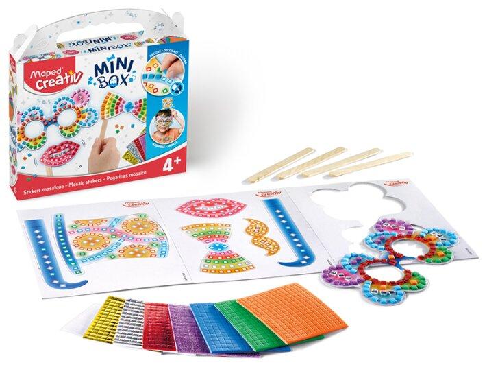 Kreativní sada Maped Creativ Mini Box mozaikové samolepky pro zábavu při focení