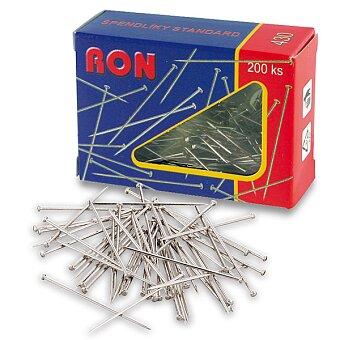 Obrázek produktu Špendlíky RON - poniklované, 200 ks