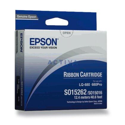 Obrázek produktu Epson -  S015262, černá páska pro jehličkové tiskárny