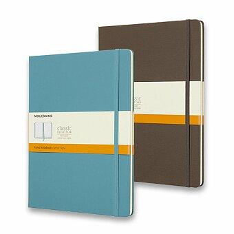 Obrázek produktu Zápisník Moleskine - tvrdé desky - XL, linkovaný, výběr barev