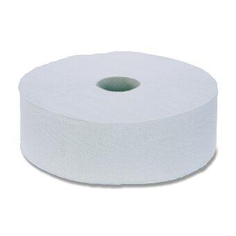 Obrázek produktu Toaletní papír Jumbo - 2 - vrstvý, průměr 28 cm, návin 260 m, 6 ks
