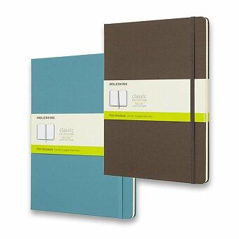 Obrázek produktu Zápisník Moleskine - tvrdé desky - XL, čistý, výběr barev