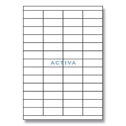 Obrázek produktu Rayfilm Glossy - samolepicí etikety - 52,5 x 21,2 mm, 1040 etiket