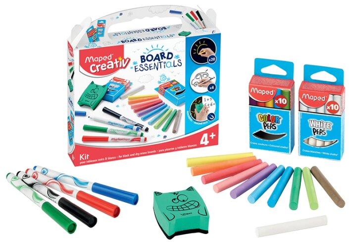 Výtvarná sada pro začínající umělce - Maped Creativ Sada pro kreslení na tabule