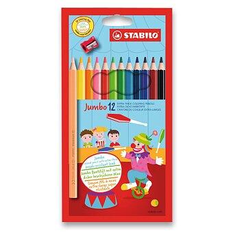 Obrázek produktu Pastelky Stabilo Jumbo 1877 - 12 barev