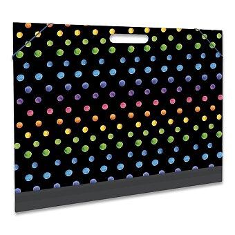 Obrázek produktu Desky na výkresy A3 - motiv Dots, puntíky