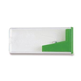 Obrázek produktu Ořezávátko Faber-Castell se zásobníkem - zelené