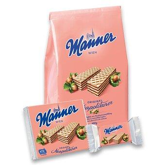 Obrázek produktu Lískooříškové oplatky Manner Original Neapolitaner - výběr balení