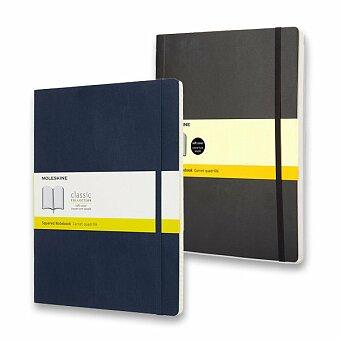Obrázek produktu Zápisník Moleskine - měkké desky - XL, čtverečkovaný, výběr barev