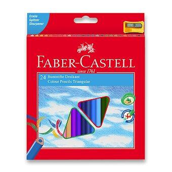 Obrázek produktu Pastelky Faber-Castell trojhranné - 24 barev + ořezávátko