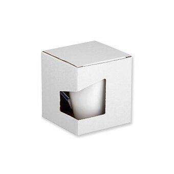 Obrázek produktu GB COLBY - papírová dárková krabička, bílá