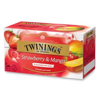 Obrázek produktu Twinings - ovocný čaj - Jahoda, mango, 25 x 2 g