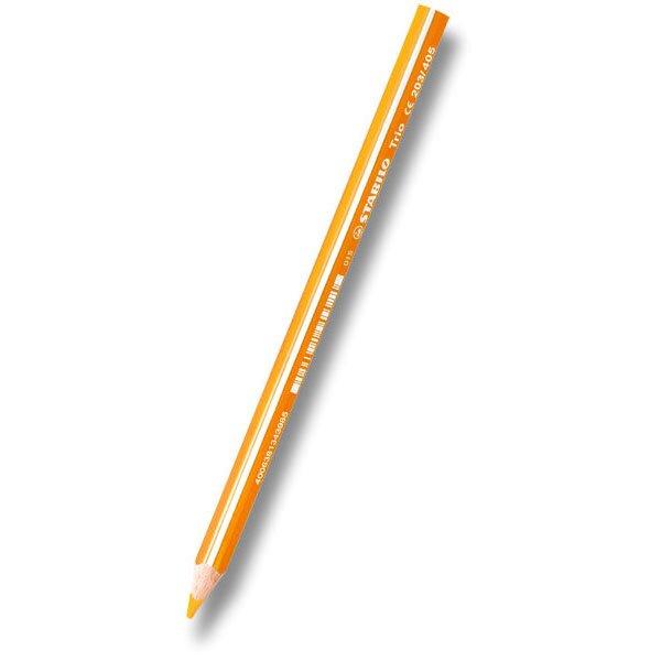Pastelka Stabilo Trio oranžová