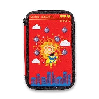 Obrázek produktu Penál Carioca Pixel - 2patrový, vybavený