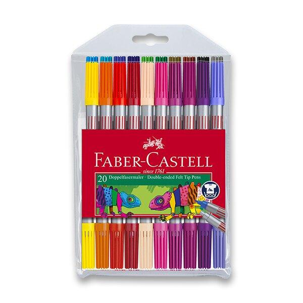 Dětské fixy Faber-Castell 20 barev