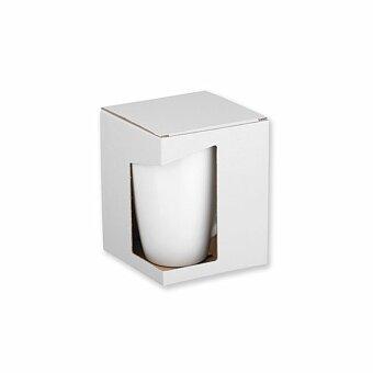 Obrázek produktu GB FRANZ - papírová dárková krabička, bílá