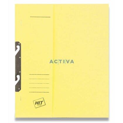 Obrázok produktu HIT RZP - závesný papierový rýchloviazač - A4, žltý