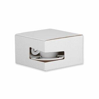 Obrázek produktu GB PRESSO - papírová dárková krabička, bílá