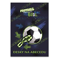 Desky na abecedu Fotbal