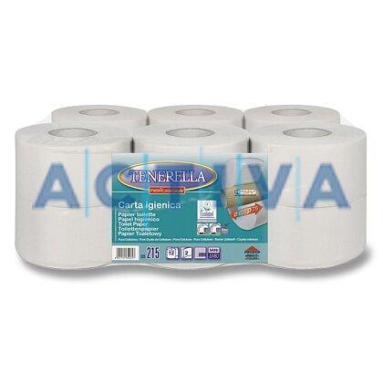 Obrázek produktu Tenerella Jumbo - toaletní papír - 2-vrstvý, průměr 18,5 cm, návin 135 m, 12 ks