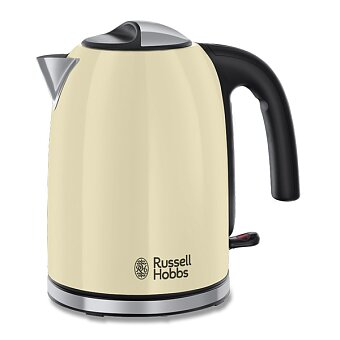 Obrázek produktu Rychlovarná konvice Russell Hobbs Colours Plus Kettle Cream - objem 1,7 l, krémová