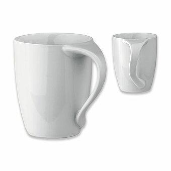 Obrázek produktu ERGO - keramický hrnek, 330 ml, bílá