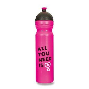 Obrázek produktu Zdravá lahev 1,0 l - All you need, fialová, edice UAX