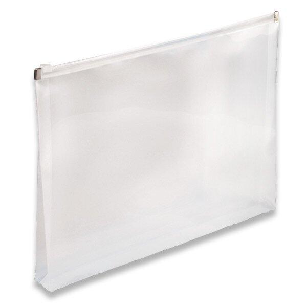 Plastová ZIP obálka průhledná, A4