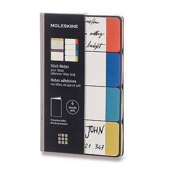 Obrázek produktu Samolepicí záložky Moleskine Semi Colour