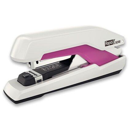 Obrázek produktu Rapid Supreme Omnipress SO60c - sešívačka - na 60 listů, bílo/růžová