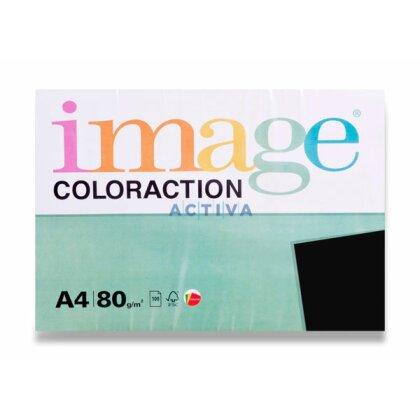 Obrázek produktu Image Coloraction - barevný papír - A4, 100 listů, černý
