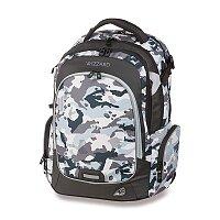 Školní batoh Walker Campus Wizzard Camouflage