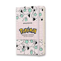 Zápisník Moleskine Pokemon Jigglypuff - tvrdé desky