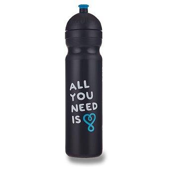 Obrázek produktu Zdravá lahev 1,0 l - All you need, černá