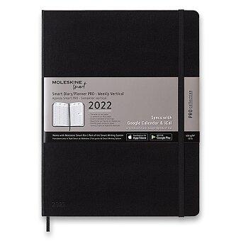 Obrázek produktu Diář Moleskine Smart Writing 2022 - XL, týdenní, černý