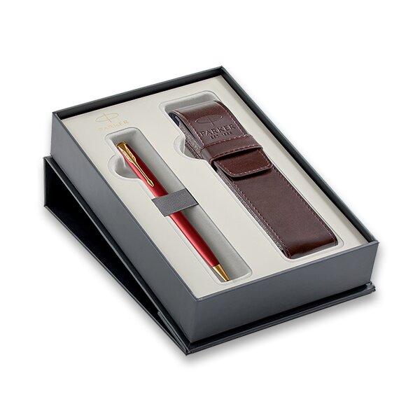 Parker Sonnet Red GT kuličková tužka, dárková sada s pouzdrem