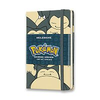 Zápisník Moleskine Pokemon - tvrdé desky