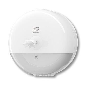Obrázek produktu Zásobník na toaletní papír Tork Elevation SmartOne Mini T9 - 219 x 218 x 155 mm, bílý