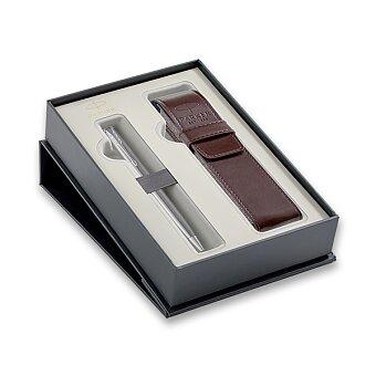 Obrázek produktu Parker Sonnet Stainless Steel CT - kuličková tužka, dárková sada s pouzdrem