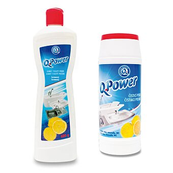 Obrázek produktu Čistič nádobí Q power - citron
